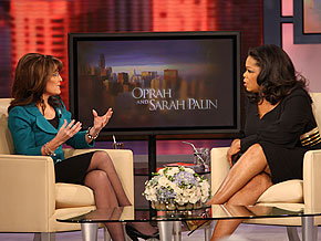 Oprah and Sarah Palin