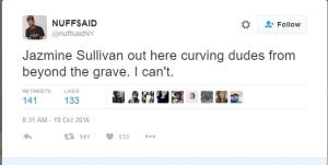"""Curving Dudes Beyond the Grave"""