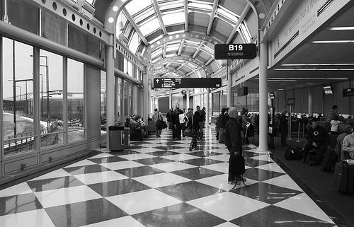 O'Hare Terminal 1 B Concourse