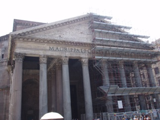 M·AGRIPPA·L·F·COS·TERTIUM·FECI | Pantheon