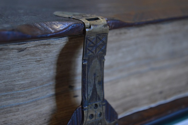 image of a locked book