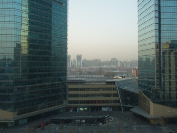 View from the JW - China Central Place