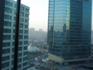View from the JW China Central Place