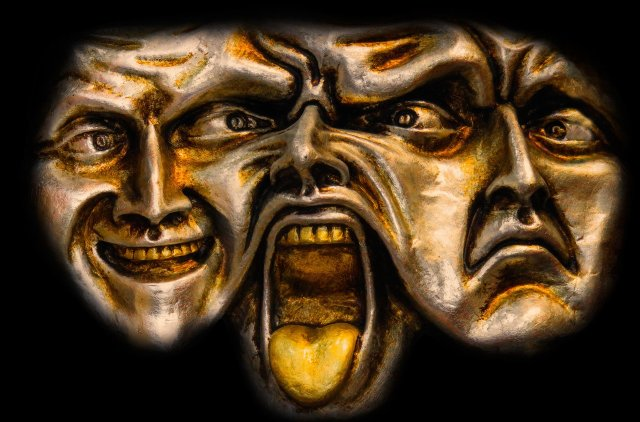 human psyche masks